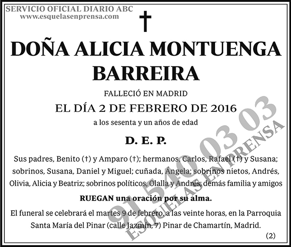 Alicia Montuenga Barreira
